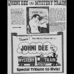 JOHNI DEE AND THE MYSTERY TRAIN
