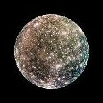 Orbital View of Callisto